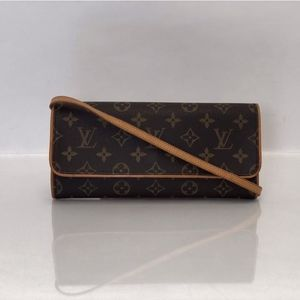 Louis Vuitton Monogram Pochette Twin GM Crossbody